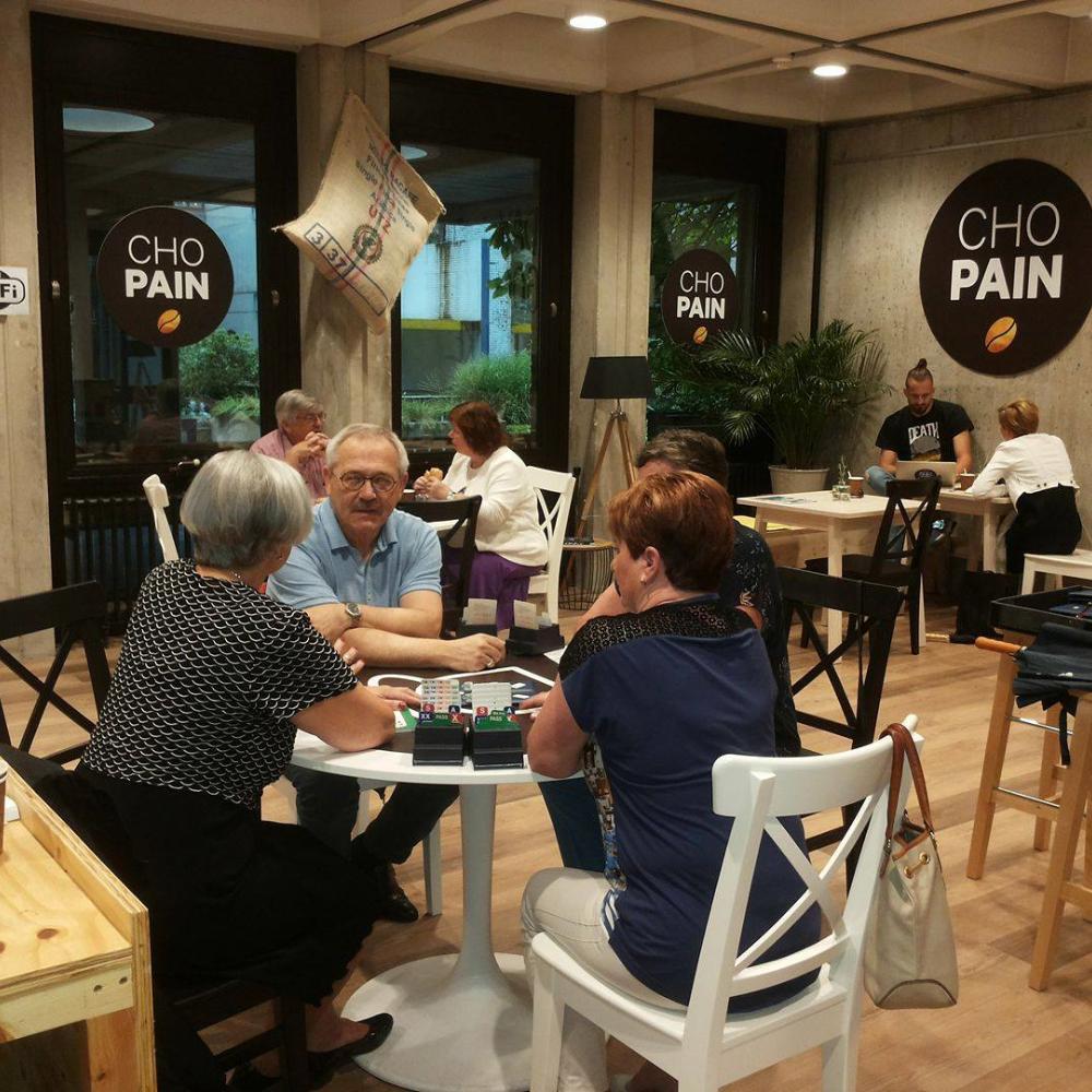 Lekker eten en drinken bij CHO PAIN