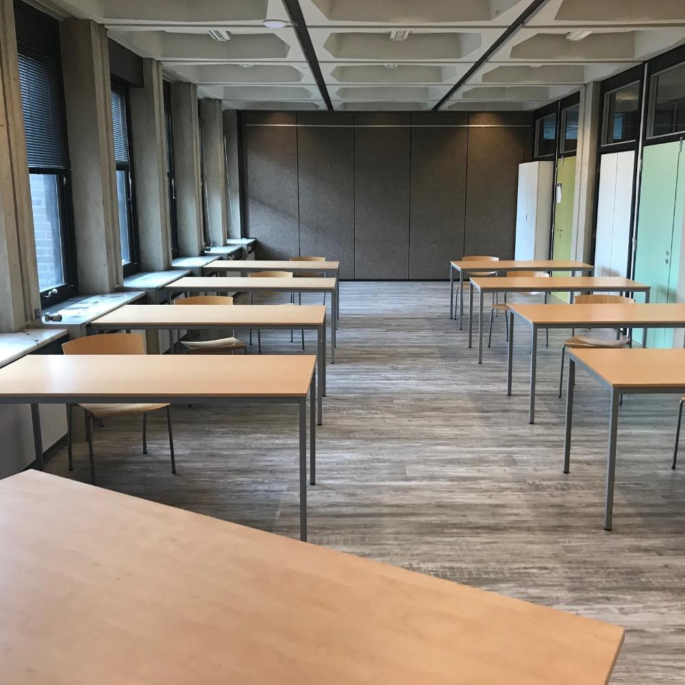 Huur vandaag nog een van de vier leslokalen in Carbon6 voor vergaderingen en andere activiteiten in Carbon6 in Heerlen