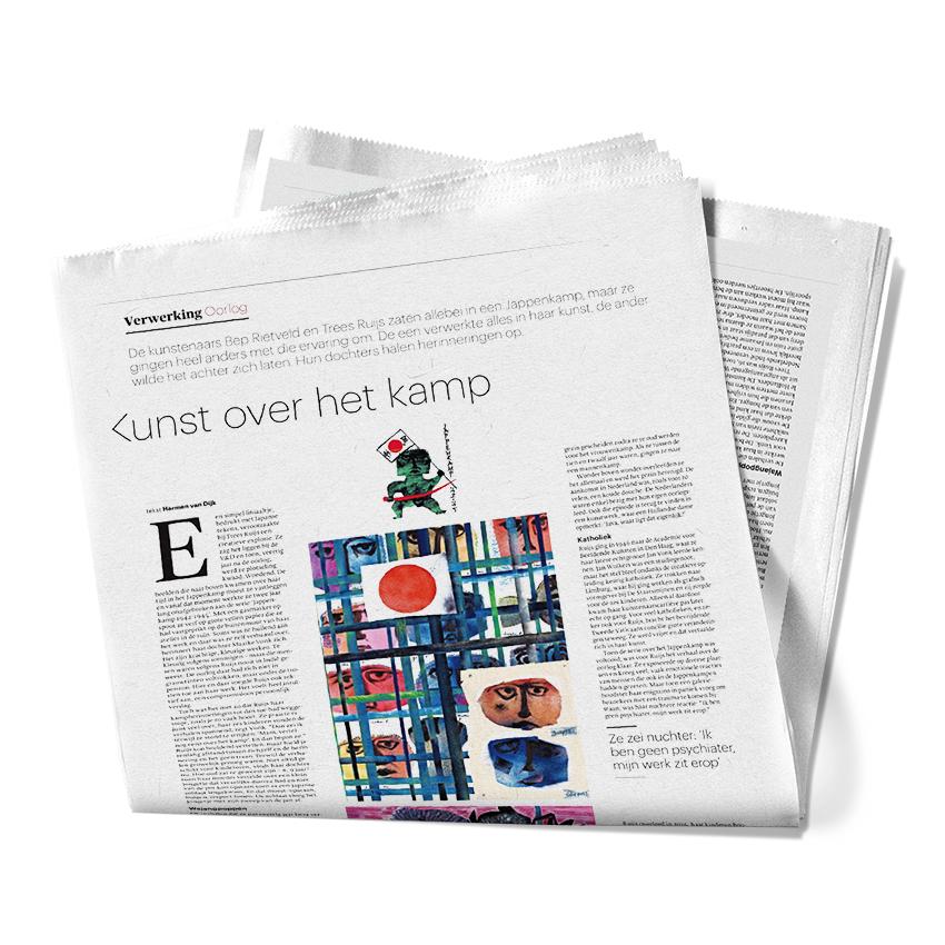 TreesRuijsHuijs-Newspaper