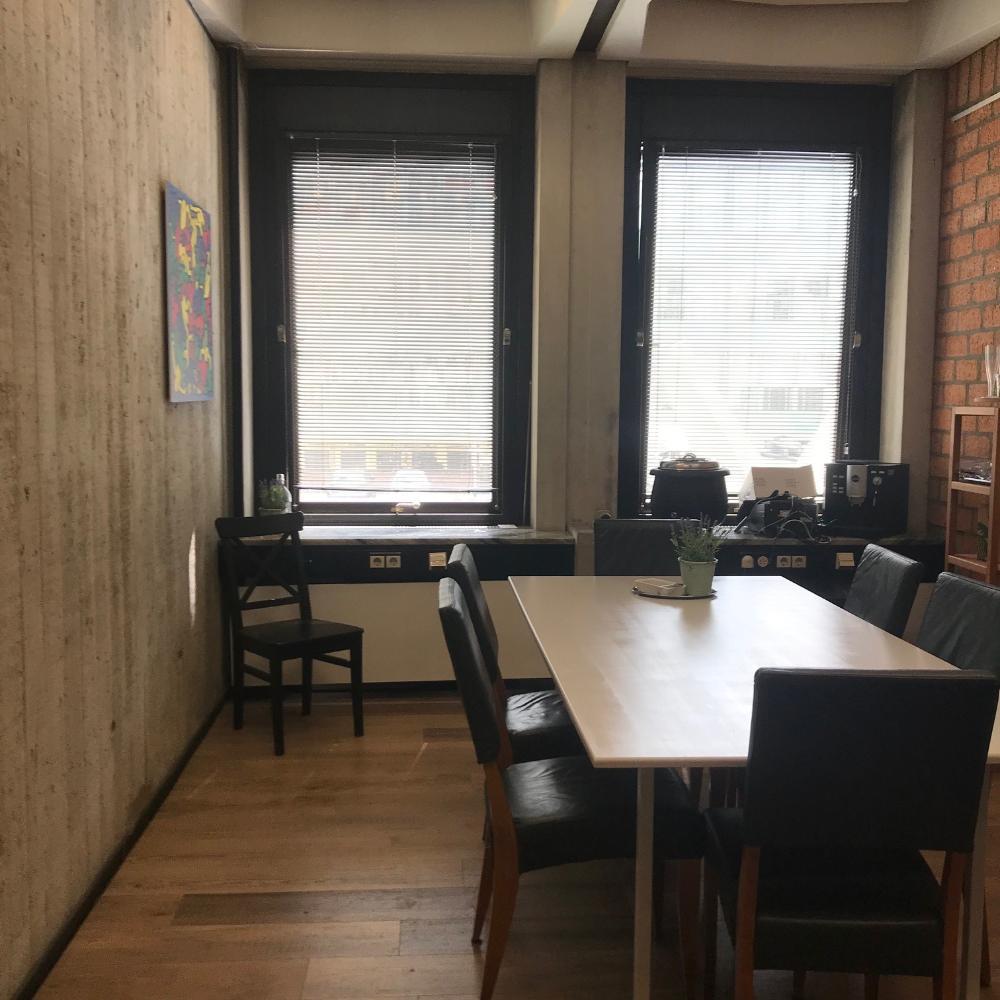 Vergaderen met privacy in de ruimte van ChoPain in Carbon6